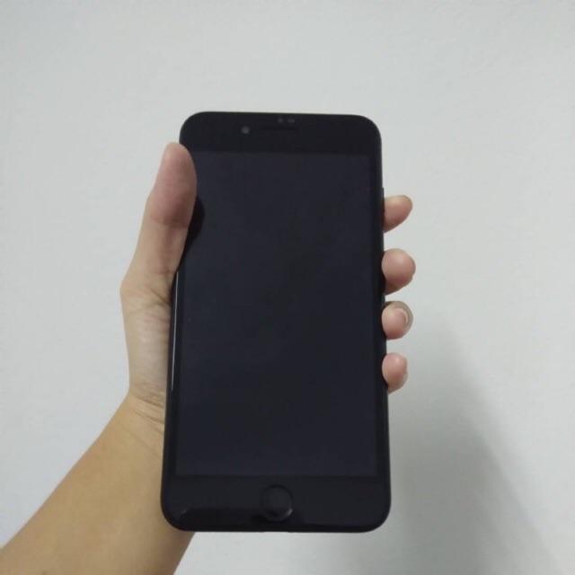 โทรศัพท์มือสอง!iPhone 7Plus Apple iphone7 plus 32G สีดำด้าน สภาพสวย Model TH ใช้งานปกติ อายุการใช้งานน้อยมาก
