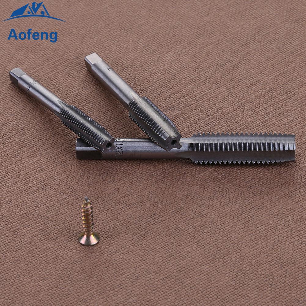 7pcs M3 M4 M5 M6 M8 M10 M12 HSS Machine Hand Screw Thread Metric Plug Drill Bits