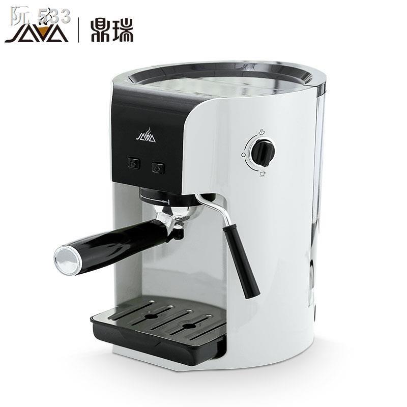 ✒JAVA/Dingrui wsd18-050 เครื่องชงกาแฟเอสเปรสโซกึ่งอัตโนมัติที่บ้าน เครื่องชงกาแฟแคปซูล เครื่องทำผงกาแฟ เครื่องทำฟองนม