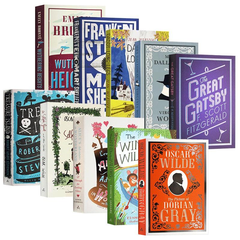 Hot Books หนังสือวรรณกรรมคลาสสิกและชื่อดังภาษาอังกฤษ 10 ชิ้น