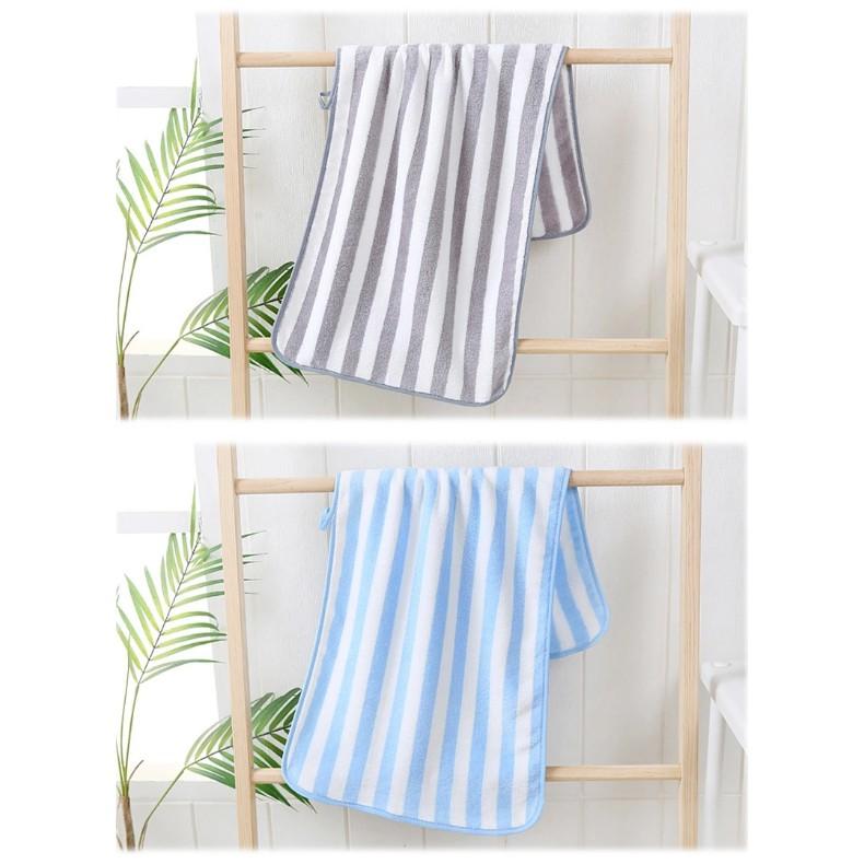 【ZY.home】ผ้าขนเป็ด ผ้าเช็ดผม ผ้าขนหนู ผ้าขนหนูเล็ก ผ้าเช็ดหน้า ขนาด 35×75cm สีพื้น ขอบหยักก