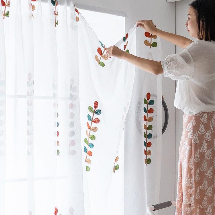 📣สินค้าพร้อมส่ง # ผ้าม่านสำเร็จรูปไม่ต้องเจาะติดตั้ง Velcro paste style window screen ม่านม่านประตูหน้าต่าง/สดขนาดเล็ก