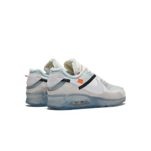 Ycx Nike Airmax 90 X Offwhite รองเท้าผ้าใบสีขาวคุณภาพดี