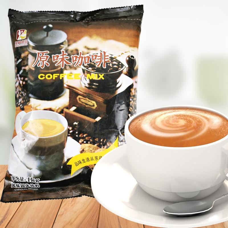 ตงดั้งเดิมทันทีละลายเครื่องดื่มกาแฟสามในหนึ่งเดียวถุงบรรจุภัณฑ์ขนาดใหญ่1kgหยอดเหรียญเครื่องชงกาแฟ