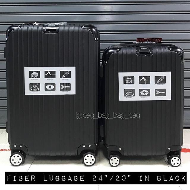"""กระเป๋าเดินทางvellfire /20""""/24"""" สีดำ"""