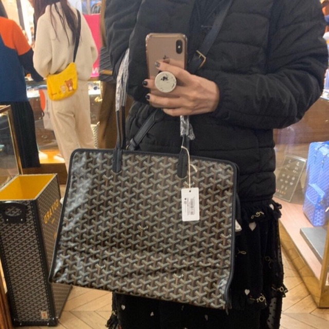 Goyard Hardy PM black