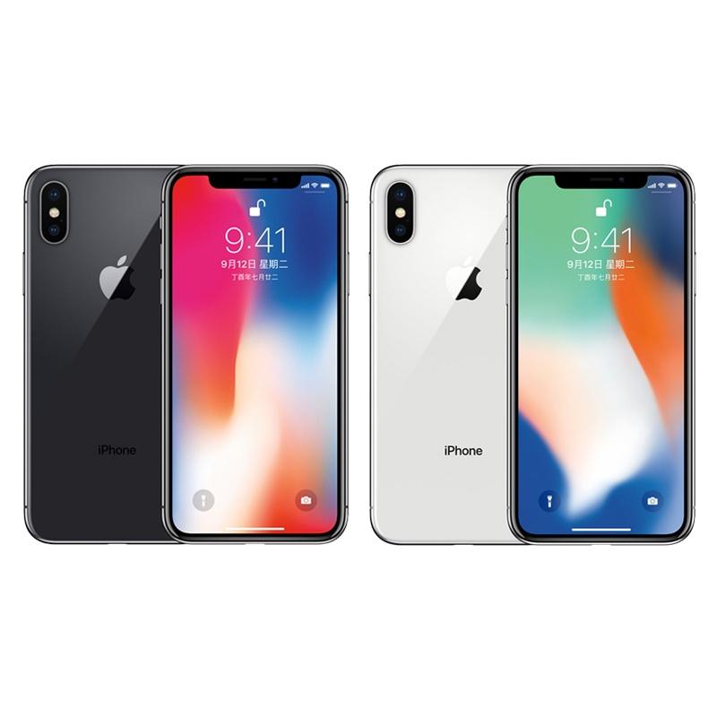 "❖EU Fast Ship Original Apple iPhone X 3GB RAM 64/256GB ROM 5.8"" iOS Hexa core 12.0MP Dual Back กล้องปลดล็อคโทรศัพท์มือถื"