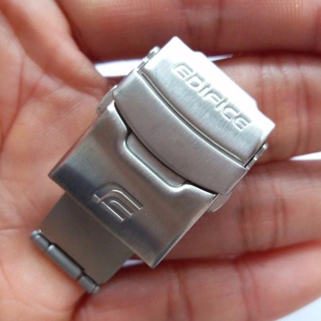 อุปกรณ์เสริมนาฬิกาข้อมือสายสแตนเลส Casio Clasp Ef / Efr / Eqw 18 19 20 22 มม