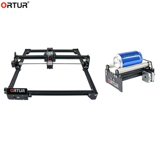 Group Products: 20W/15W/7W Ortur Laser Master 2 Desktop Printer Logo Picture Marking with CNC Roller Rotation Axis Rotar