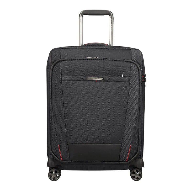 SAMSONITE กระเป๋าเดินทางล้อลาก แบบผ้า ขนาด 20 นิ้ว รุ่น PRO-DLX 5 SOFTCASE SPINNER 55/20 EXP