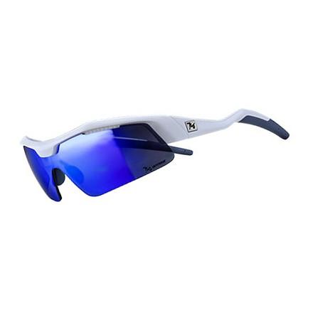 แว่นตากันแดด 720armour รุ่น Tack สีกรอบ Matte White สีเลนส์ Smoke Blue Ti