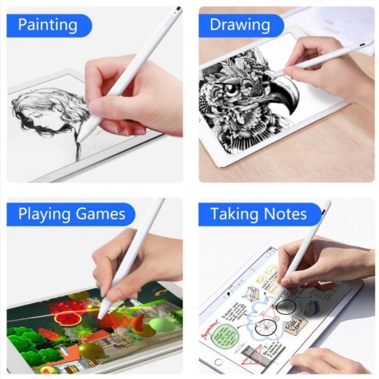 👍✅💯❐❈❃(พร้อมส่ง)ปากกาไอแพด วางมือแบบ  Pencil stylus ipad gen7 2019 applepencil 10.2 9.7 2018 Air 3 Pro 11 2020 12.9