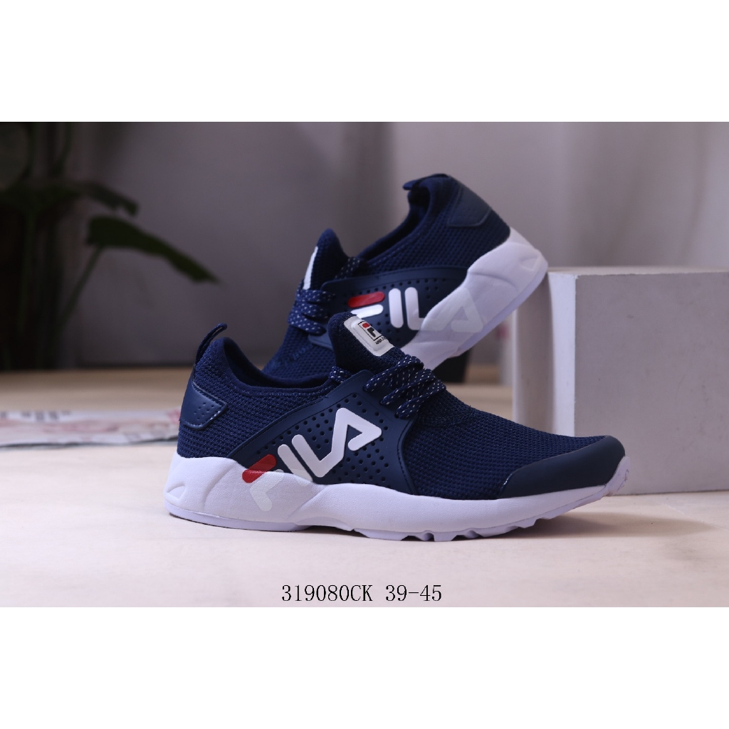 FILA รองเท้าวิ่งระบายอากาศ ของแท้ รองเท้ากีฬา รองเท้าลำลอง