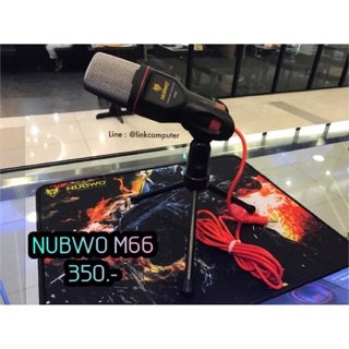 Review NUBWO M66 CONDENSER MICROPHONE