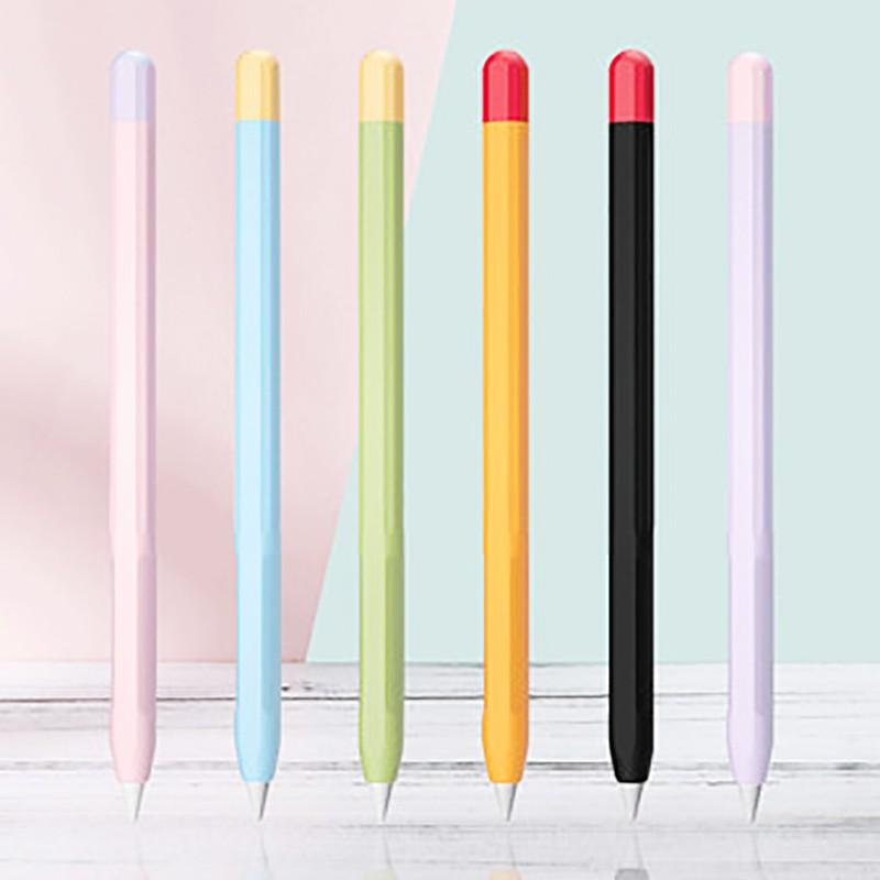 🔥[[พร้อมส่งทุกสี !! ]] 🔥ปลอกปากกา Apple pencil 1/2 เคสปากกา เคสแอปเปิ้ลเพน เคส apple pencil 1/2
