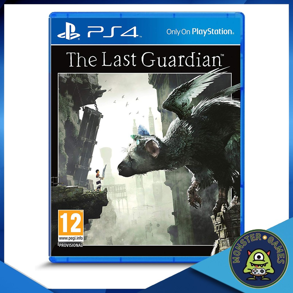 The Last Guardian Ps4 แผ่นแท้มือ1!!!!! (Ps4 games)(Ps4 game)(เกมส์ Ps.4)(แผ่นเกมส์Ps4)(The Last Guardian Ps4)