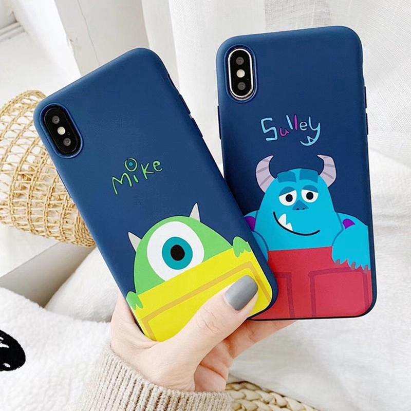 sully mike สัตว์ประหลาด soft case Samsung A8+ 2018/A8Plus 2018 A8 2018 A7 2018 A6+ 2018/A6Plus 2018 A6 2018 A9 2018 A7 2017/A720 A5 2017/A520 A3 2017/A320 J8 2018 J6 2018 J6Plus/J6+ J4 2018 J4Plus/J4+ J7Plus J7Pro/J7 2017 J7Prime J710/J7 2016 Note9 Note10