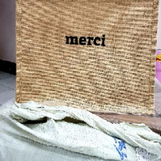 Image # 7 of Review ‼New‼ กระเป๋าสานเกาหลี merci 2019‼