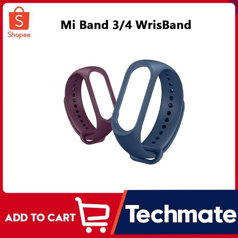 สาย applewatch สาย applewatch แท้ สายนาฬิกาข้อมือซิลิโคน สำหรับ Mi band 3 และ Mi band 4
