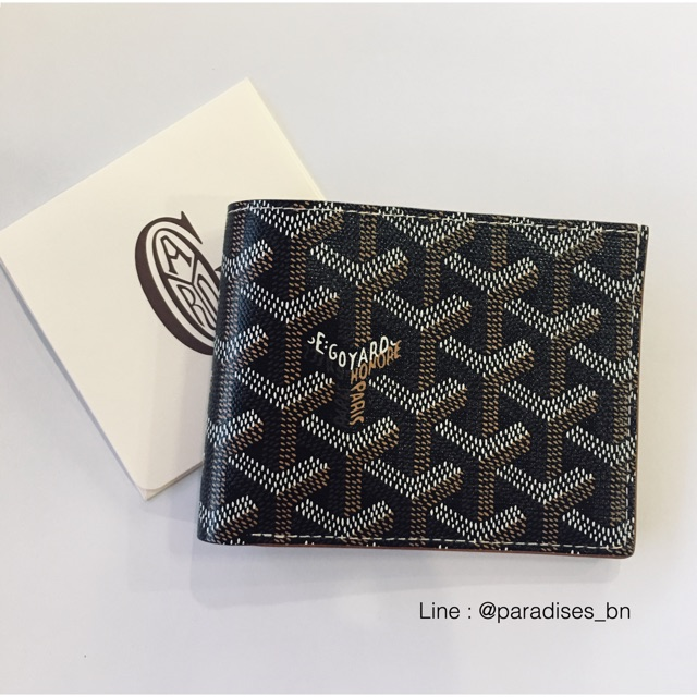 New goyard 8 card wallet in brown