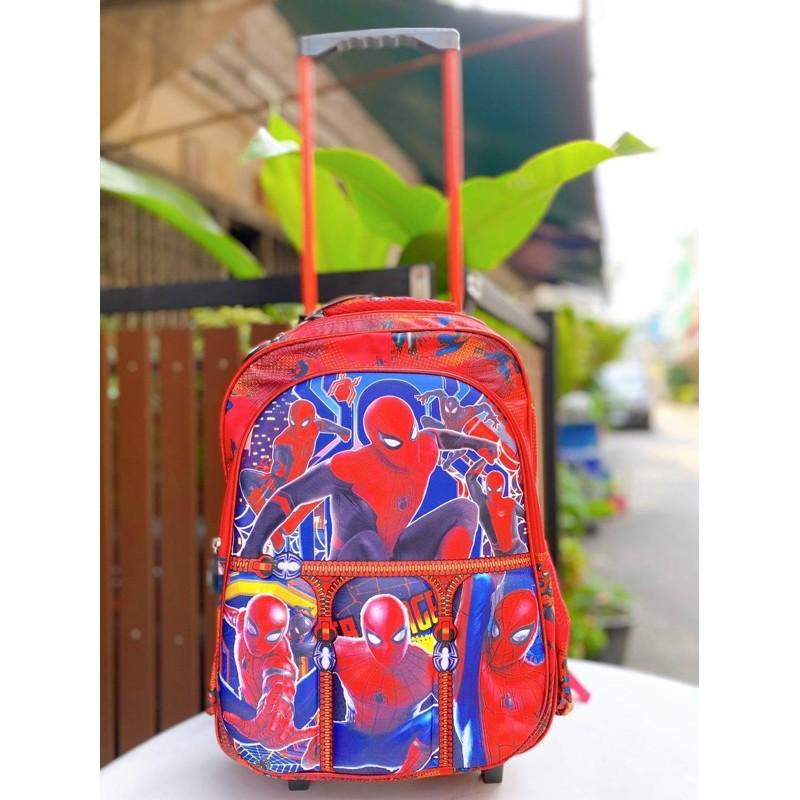 กระเป๋าเดินทางล้อลาก กระเป๋าล้อลาก กระเป๋าลาก กระเป๋าล้อลากเด็กสไปเดอร์แมน กระเป๋าล้อลากสไปเดอร์แมน ขนาด14นิ้ว