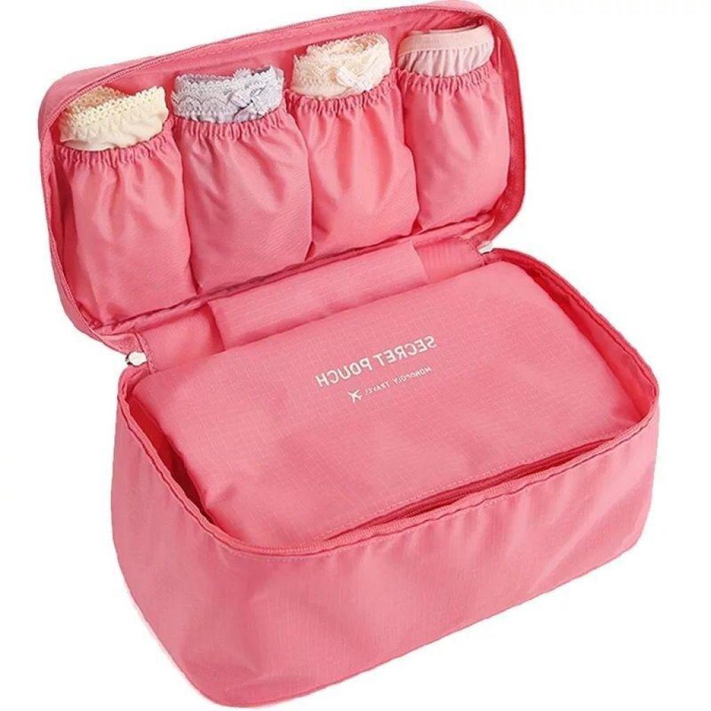 ท่องเที่ยว กระเป๋าใส่ชุดชั้นใน กระเป๋าจัดระเบียบ กระเป๋าเดินทาง กระเป๋าหิ้วใบเล็ก กระเป๋า กางเกงใน เสื้อใน บิกีนี่่องเที
