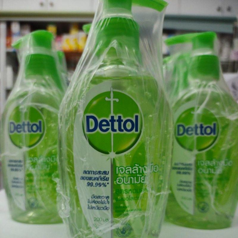 เจลล้างมือDettol 200ml