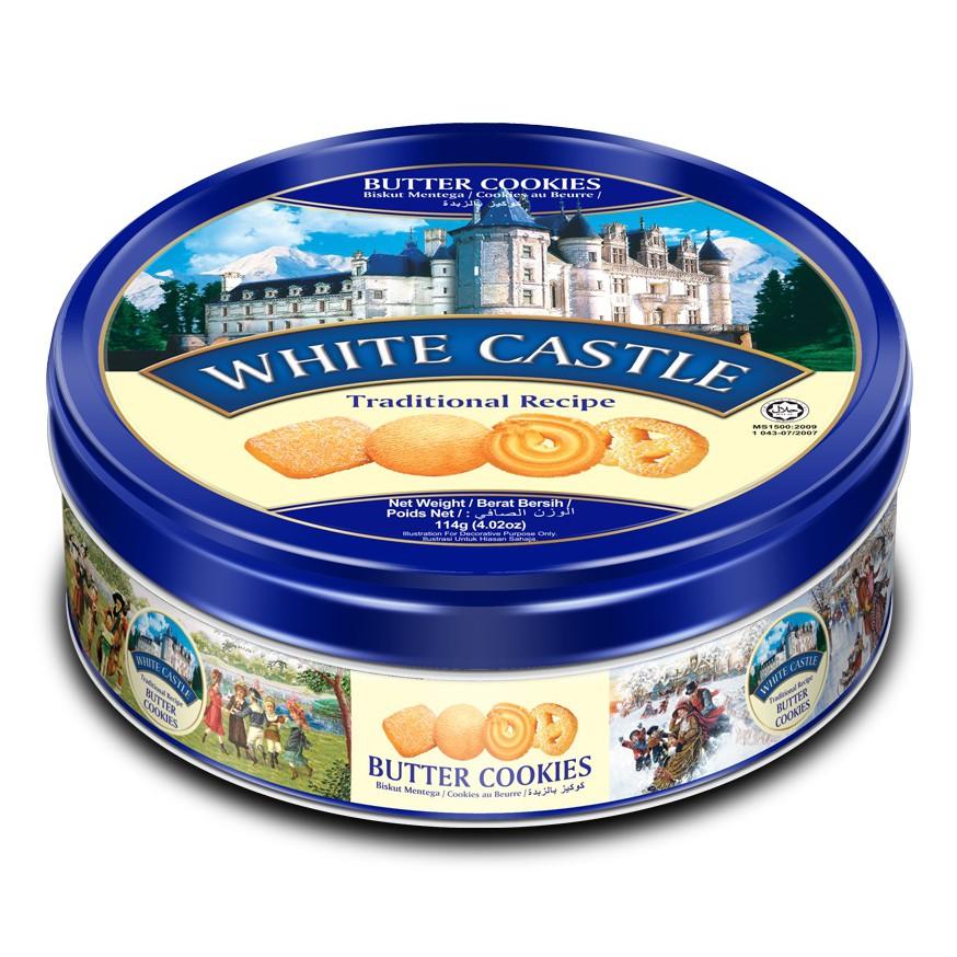 พร้อมส่ง!!!🚚💨 114g White Castle Butter Cookies คุกกี้พระราชวัง