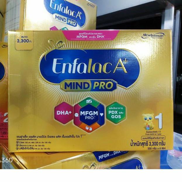 โฉมใหม่!! Enfalac A+1 MindPro เอนฟาแล็ค เอพลัส สูตร1 ขนาด 3,300กรัม (6ซอง)