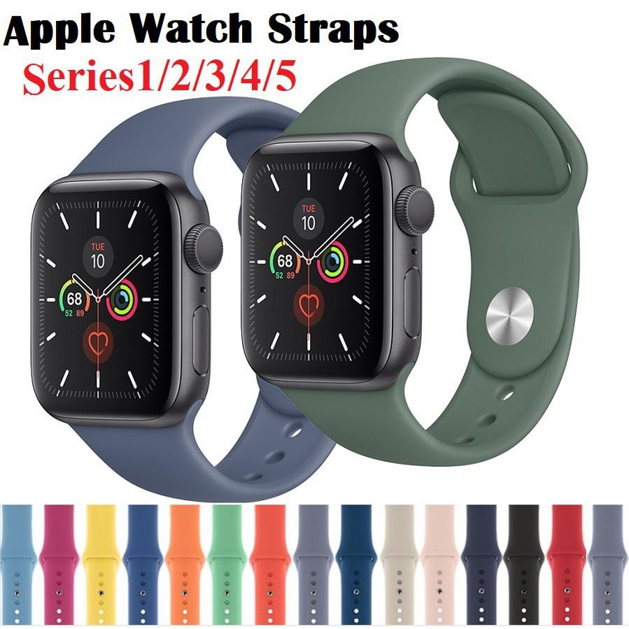 สาย applewatch สายนาฬิกา applewatch Apple watch Strap สาย apple watch band iWatch Series 6/5/4/3/2/1,Apple Watch SE ขนาด