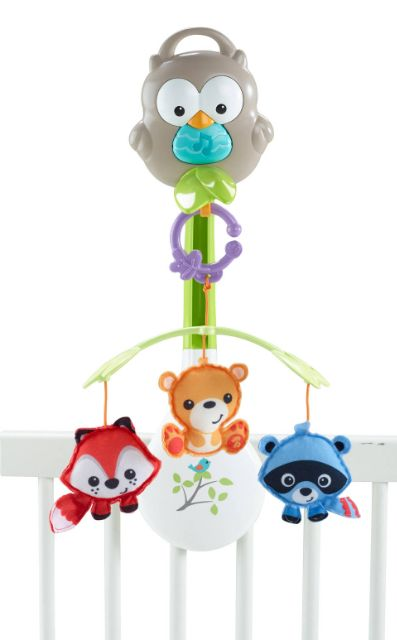 Lullaby Music Infant Baby Fisher-Price Animal Musical 3-in-1 New Mobile Crib