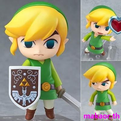 Breath of the Wild Link  Figurines FR 10CM GSC Clay 733 The Legend of Zelda