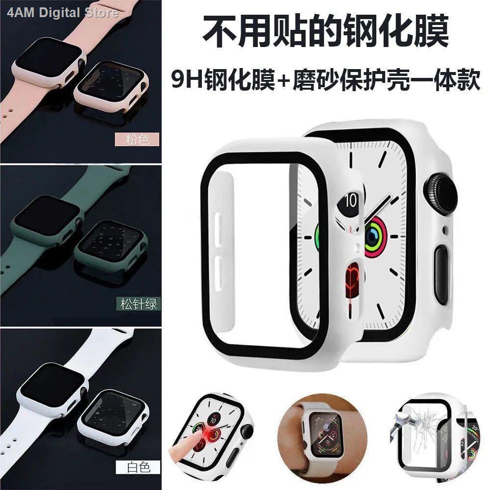【อุปกรณ์เสริมของ applewatch】●ใช้ได้กับเคส Apple Watch, ปลอกป้องกัน AppleWatch, เคสป้องกันแบบ TPU แบบเทมเปอร์นิรภัย,