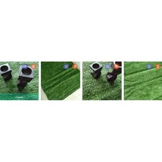(เก็บเงินปลายทาง)หญ้าเทียมสำหรับวางของตบแต่ง25x25cm