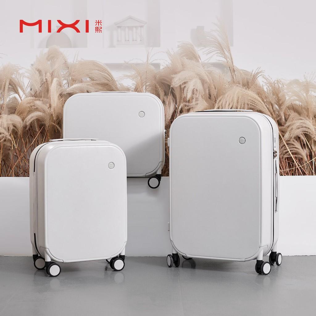 ▽◊卍กระเป๋าเดินทางผสมหญิงขนาดเล็ก เครื่องบินเล็ก เช็คอินฟรี 20 นิ้ว กรณีชาย รหัสผ่านเบา กระเป๋าเดินทางล้อลาก 18 นิ้ว