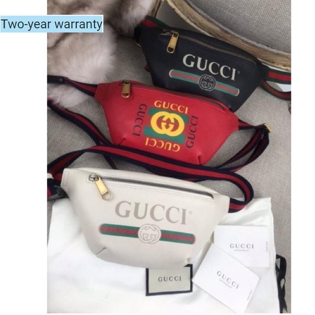กระเป๋าคาดอกGUCCI Logo Belt Bag ไซส95ค่ะ ฮิตสุดชั่วโมงนี้ ดารา เซเลปใช้กันเยอะค่ะ