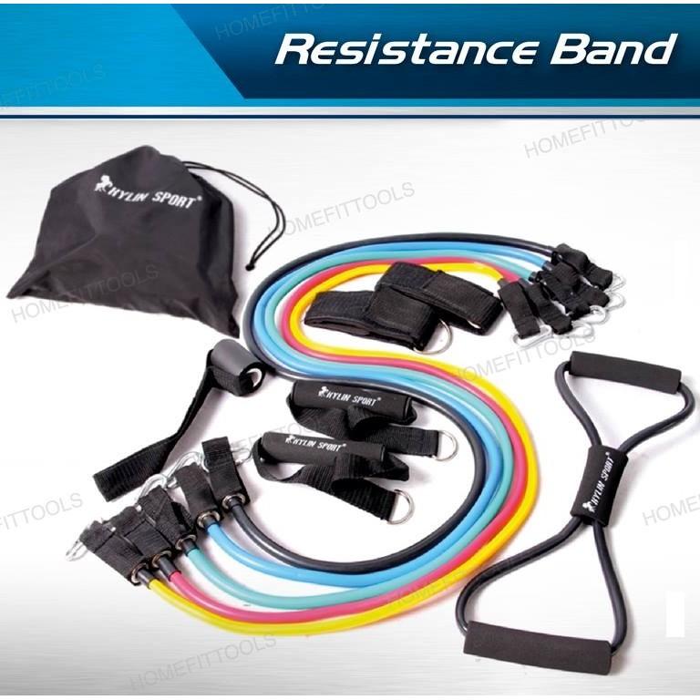 [ใส่โค๊ด SKMW2KK ลด 100.- ] ยางยืดออกกำลังกาย ยางดึงออกกำลังกาย สายแรงต้าน ยางยืด ออกกำลังกาย Resistance Band yI7H