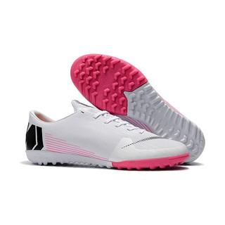 d366d73961 ... ☆สต็อกพร้อม☆จัดส่งฟรี☆รองเท้าฟุตซอล หนังวัวสีดำ ฟรี ถุงเท้า Nike  Mercurial Vapor XII TF39-45. ถูกใจ  3