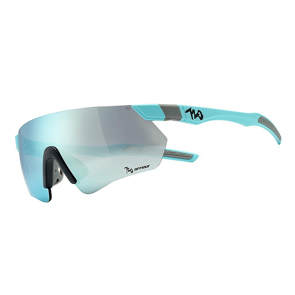 แว่นตากันแดด 720armour รุ่น Elfo สีกรอบ Matte Aquamarine สีเลนส์ Smoke Full Lake Blue