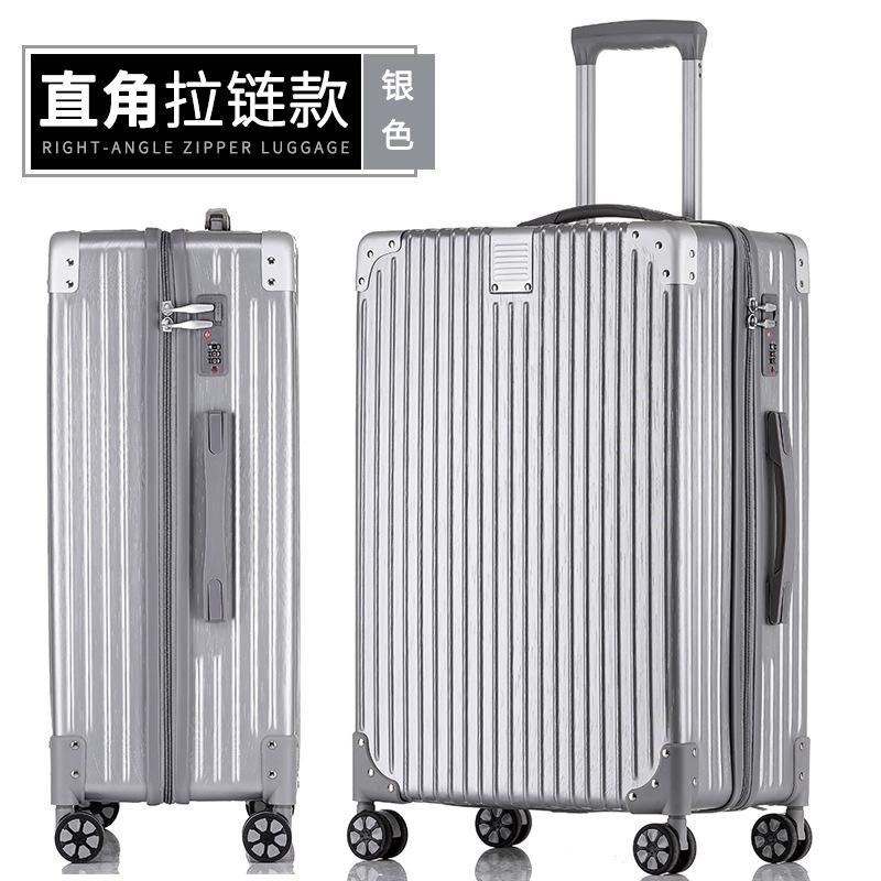 ระเบิด【】กรณีรถเข็นกระเป๋าเดินทางกระเป๋าเดินทางกระเป๋าเดินทาง20/24/26/29นิ้ว