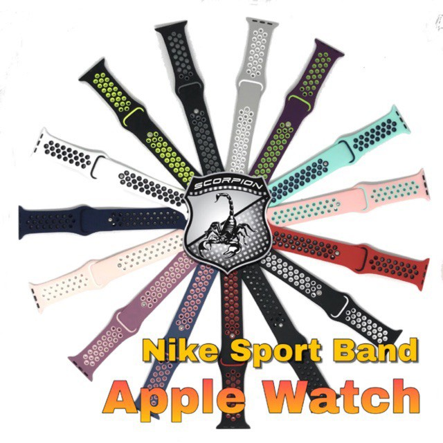 Hit! 🔥พิเศษ🇹🇭 สาย Apple Watch  Sport Band for Apple Watch Series 1,2,3,4,5 ฮิต!