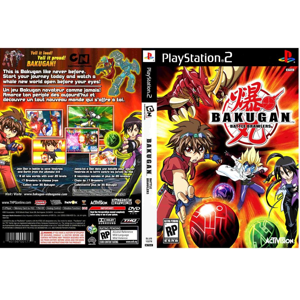 เกมส์ Bakugan Battle Brawlers  (PS2) สำหรับเครื่องที่แปลงระบบแล้วเท่านั้น
