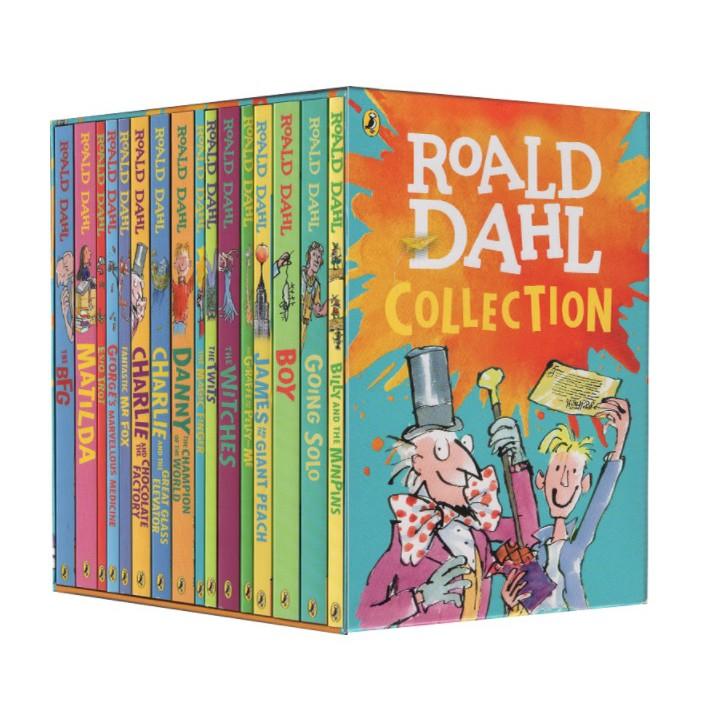 หนังสือภาษาอังกฤษ Roald Dahl Collection 16 Books Boxset (พร้อมส่ง)