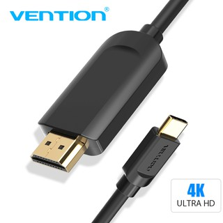 Compare Vention USB C HDMI สายเคเบิ้ล USB 3.1 Type C to 4K HDMI สำหรับ MacBook Pro Dell XPS Samsung S9 S8