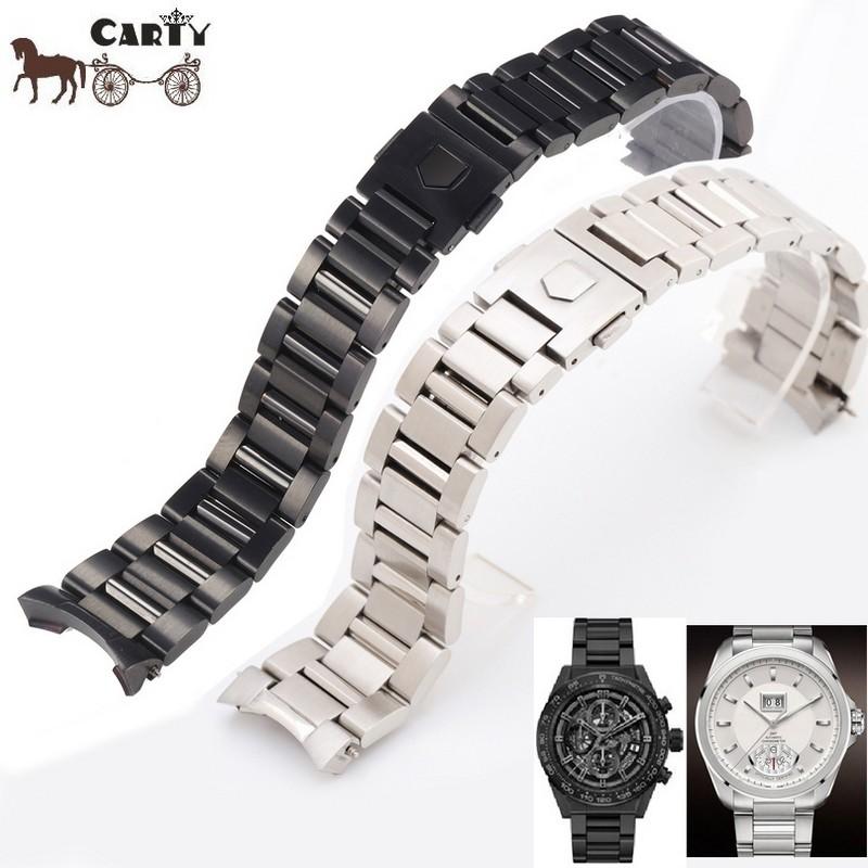 สร้อยข้อมือสแตนเลส TAG HEUER CARRERA 22mm watch accessory bracelet