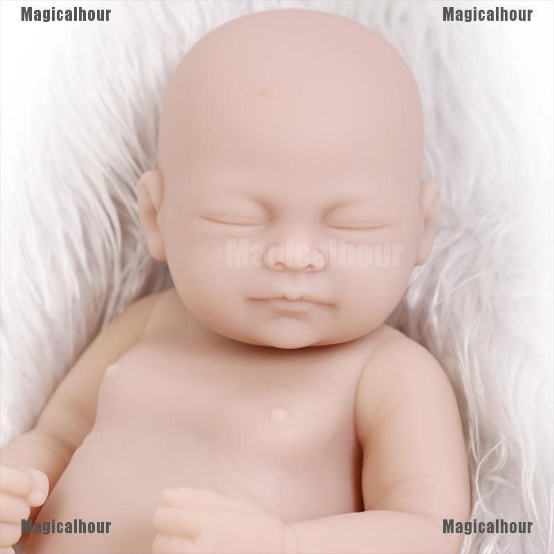 """Unpainted Blank Reborn Doll Kit Soft Full Body Silicone Doll Limbs and Body 23/"""""""
