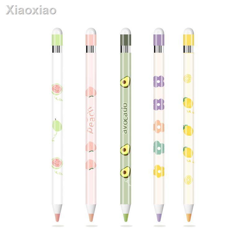 ❤ลดราคา❤❁♝[Genuine] Apple pen pencil sticker non-slip scratch-resistant creative pattern first-generation 1 second-gene