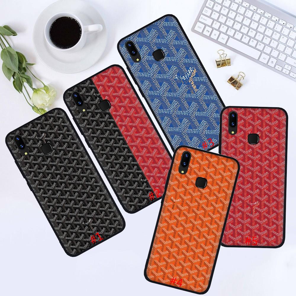 VIVO เคสโทรศัพท์มือถือพิมพ์ลาย Goyard สําหรับ Vivo Y 12 Y 19 Y 30 Y 50 Y 15 2020 S5 Nex 3x30 Pro