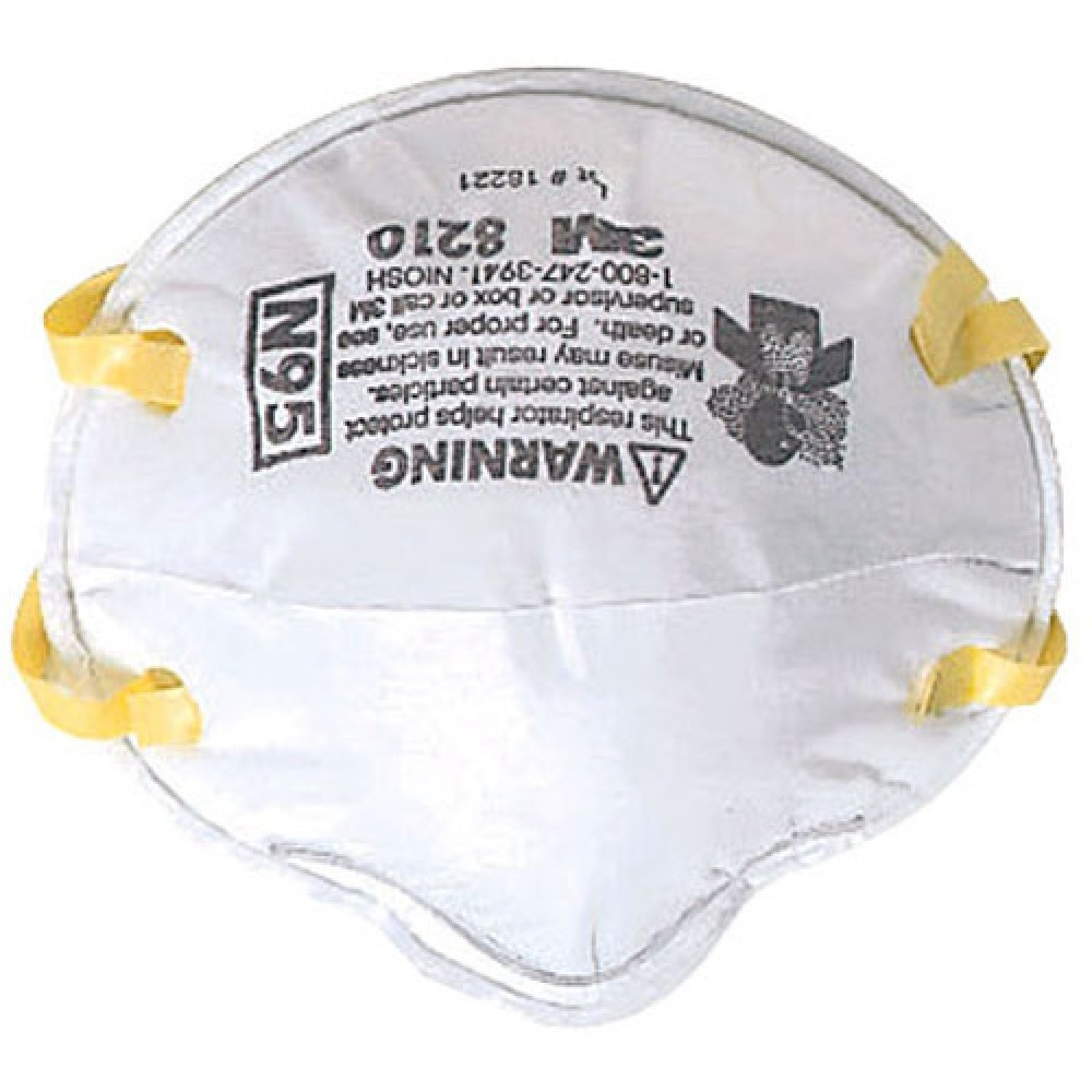 #หน้ากาก อนามัย 3M หน้ากาก ป้องกัน สารเคมี # รุ่น N95 8210 พร้อมส่ง