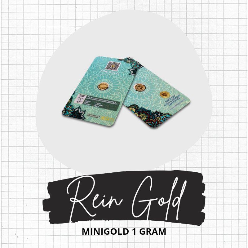 (rg) ราคาถูกที่สุดดั้งเดิมมินิทอง 1 กรัม